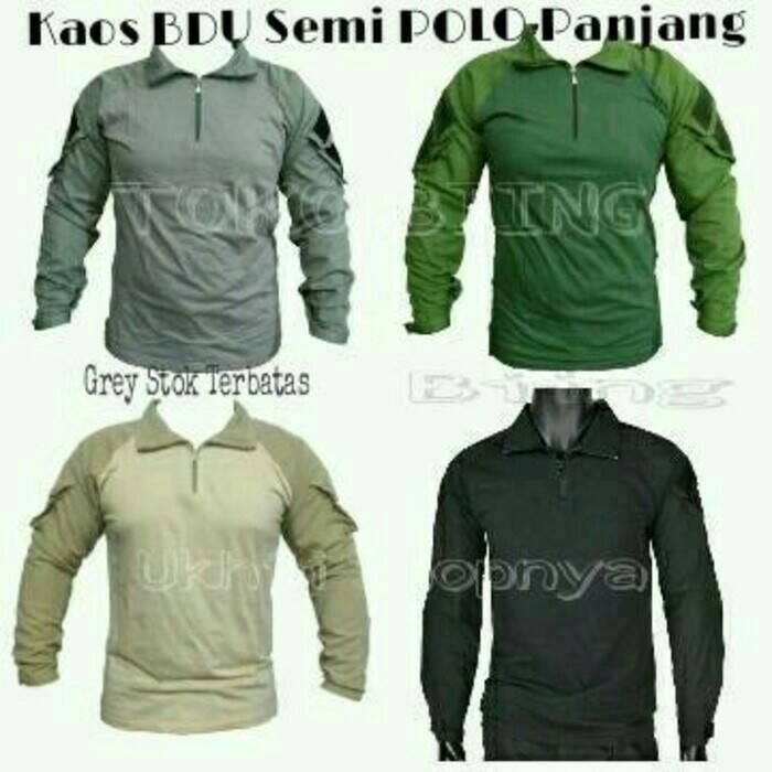 harga Baju / Kaos Bdu Semi Panjang Tactical Ahy Tokopedia.com