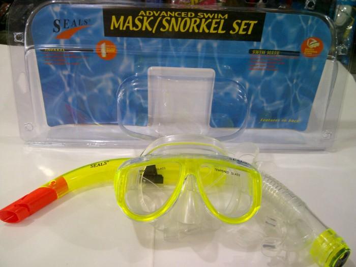 harga Alat Selam / Alat Snorkling Masker Dan Snorkle Seal Original 7092 Tokopedia.com
