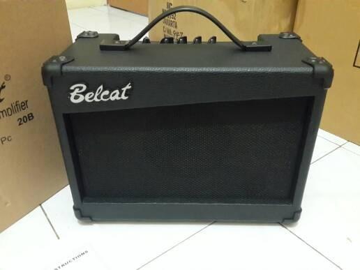 harga Ampli gitar bass belcat 20b berkualitas Tokopedia.com