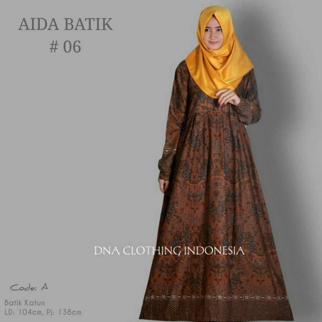 harga Aida dress gamis katun Tokopedia.com