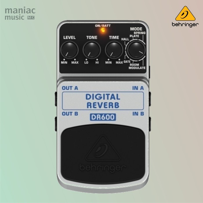 harga Behringer dr600 (digital reverb/delay, stereo, 24 bit, efek stompbox) Tokopedia.com