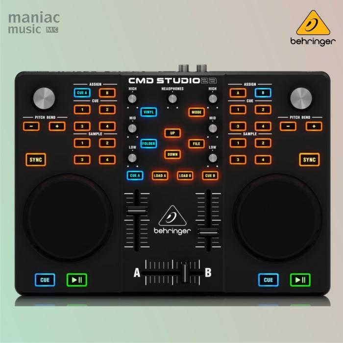 harga Behringer cmd studio 2a (dj controller mixer soundcard midi usb) Tokopedia.com