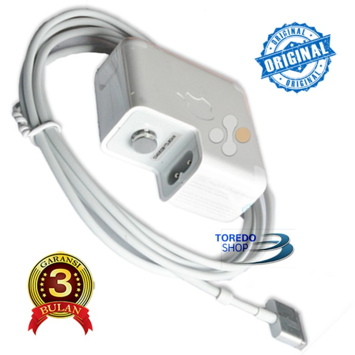 harga Adaptor/ charger laptop apple 14.85v 3.05a original Tokopedia.com