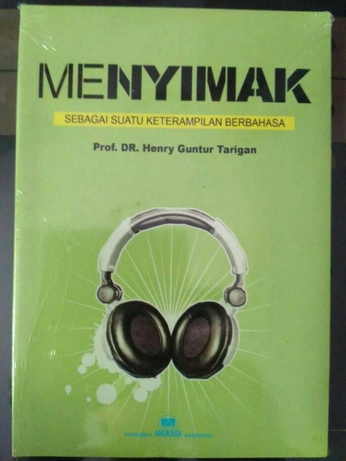 harga Menyimak sebagai suatu keterampilan berbahasa by.henry guntur tarigan Tokopedia.com