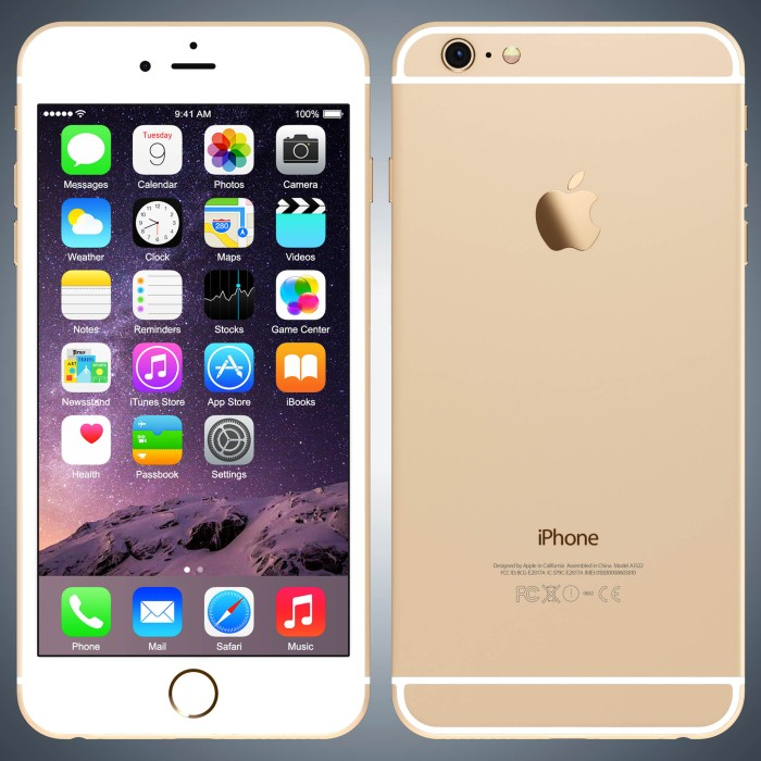harga Iphone 6 128gb gold garansi distributor spek usa Tokopedia.com
