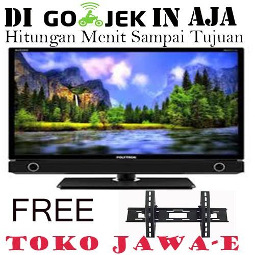 harga Polytron 22d900 led tv 22 inch - special promo + free bracket Tokopedia.com