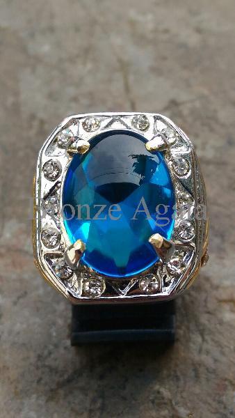 harga Cincin mewah blue royal obsidian cutting bawah hq Tokopedia.com