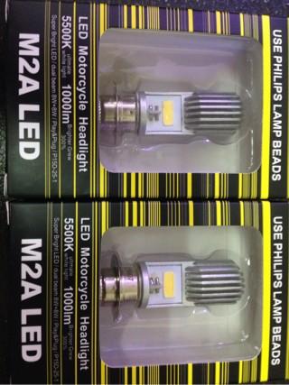 harga Lampu utama led headlamp motor h6 phillips 5500k grade a++ Tokopedia.com