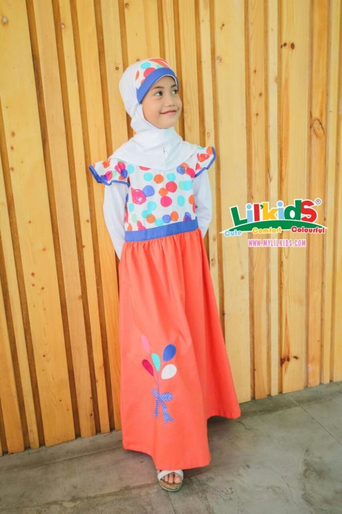 Foto Produk Baju Muslim Anak Amma Size 2 RP 189.000 dari Lil Kids
