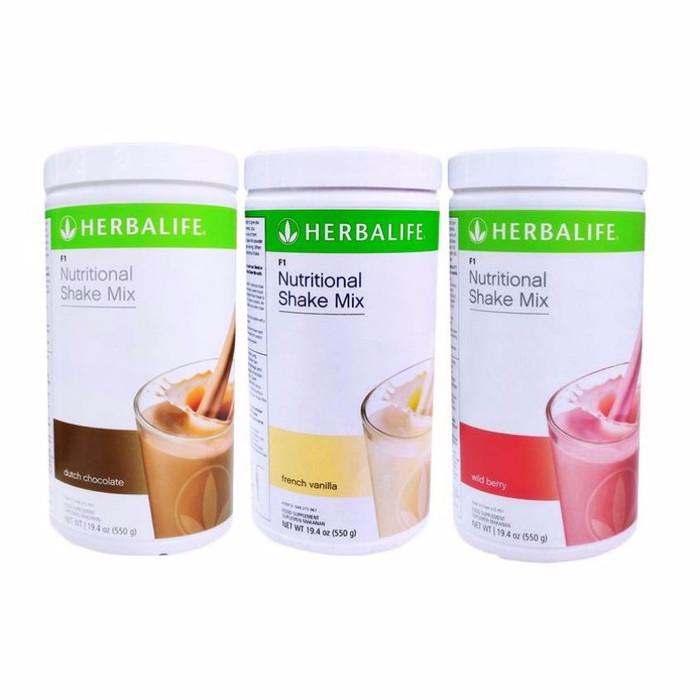 Jual Herbalife Shake Herbal Shake Mix 3pcs Kab Bekasi Me Herbal Tokopedia