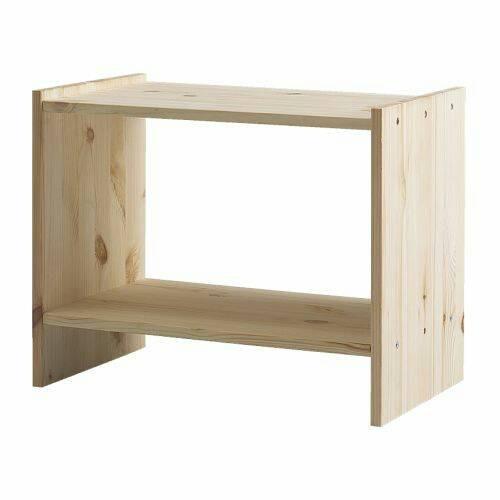 harga Ikea rast meja sudut ruangan, meja samping tempat tidur kayu pinus Tokopedia.com