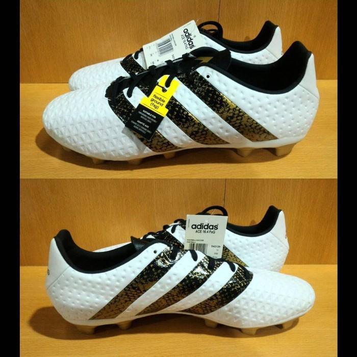 sangrado Memorizar Independientemente  Jual Adidas Ace 16.4 FXG - White Gold | sepatu Bola Adidas Original Murah -  Kab. Sleman - Unstrikebox | Tokopedia