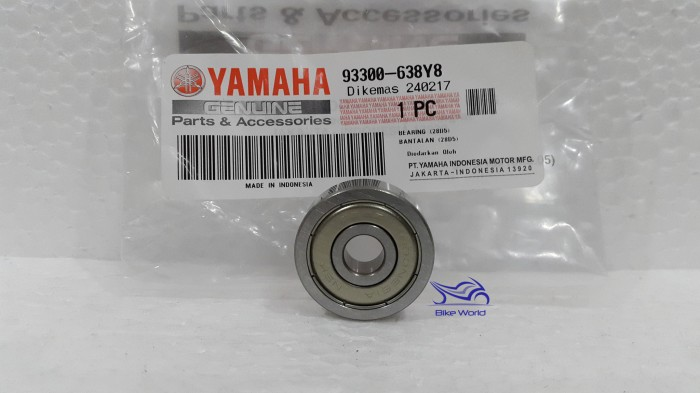 harga Bearing / laher bak cvt mio yamaha genuine parts & accessories Tokopedia.com