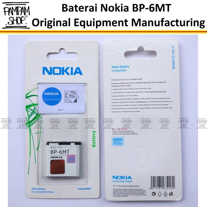 harga Batre / baterai batrai battery nokia bp-6m bp6mt nokia e51 e 51 ori Tokopedia.com