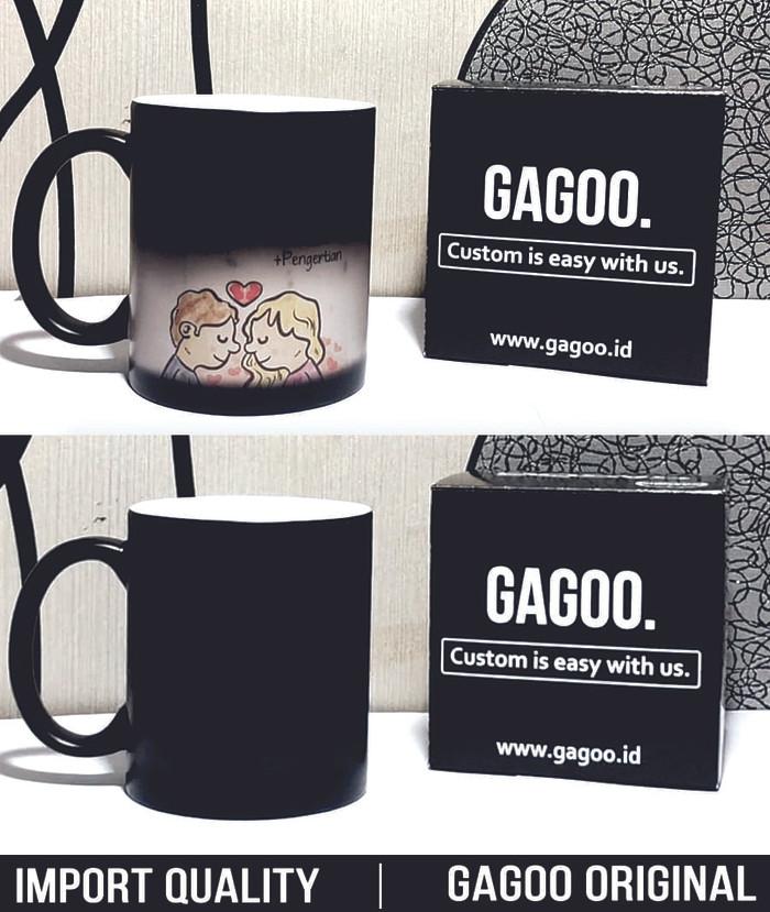 harga Kado unik|mug bunglon gelas magic ajaib import | cetak custom - gagoo Tokopedia.com