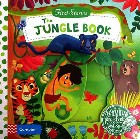 harga First stories the jungle book - push pull slide board book Tokopedia.com