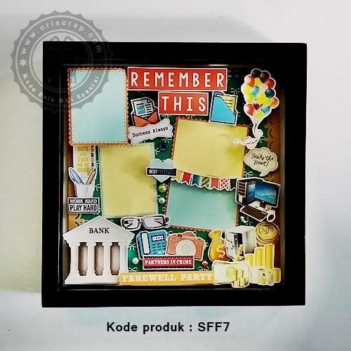 Jual Hadiah Resign Kantoran Scrapframe 3d Farewell Kado Unik