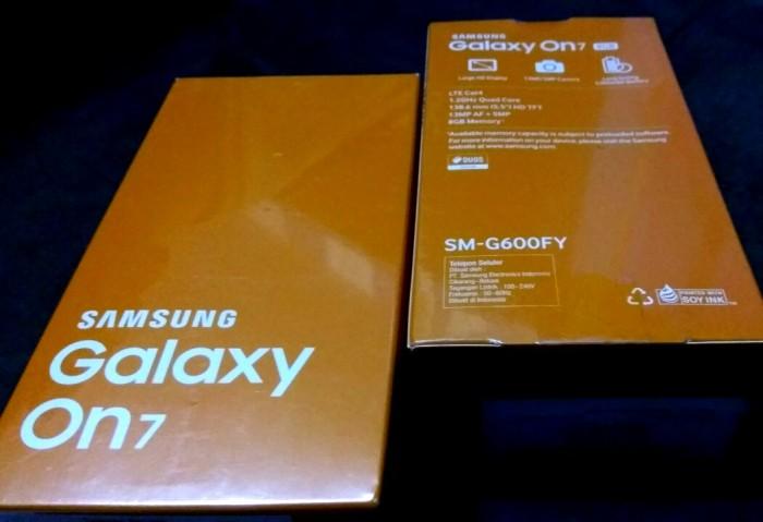 Samsung Galaxy On7 Garansi Resmi SEIN - Samsung On 7 - Hitam