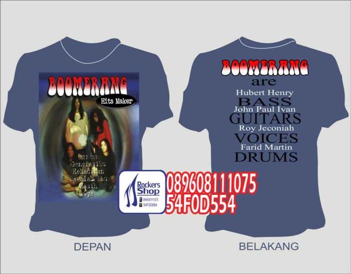 harga Kaos Boomerang Hits Maker Album Best Cut Generasiku Kehadiran Kainbiru Tokopedia.com