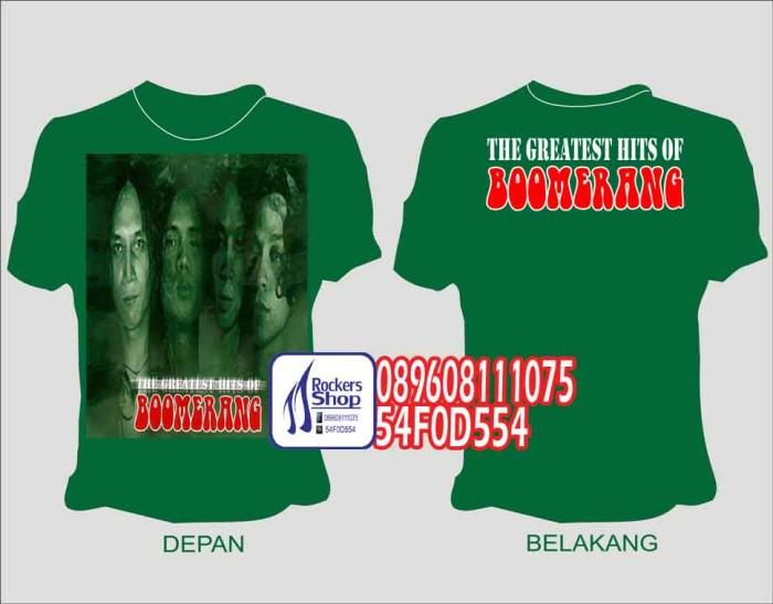 harga Kaos boomerang greatest hits kain hijau pelangi kisah bawalah aku Tokopedia.com