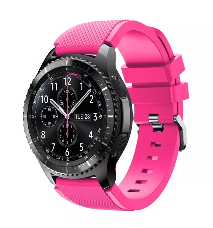 harga Samsung gear s3 frontier / classic strap / band / tali jam pink Tokopedia.com