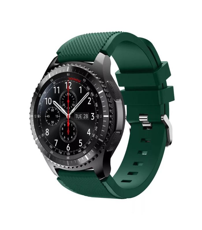 harga Samsung gear s3 frontier / classic strap / tali jam / band hijau tua Tokopedia.com
