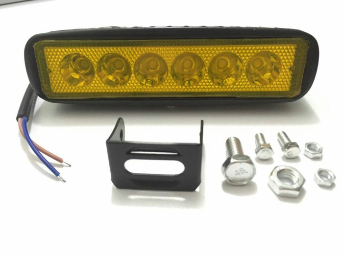 harga Lampu led 18w bar offroad drl off road work light mobil motor Tokopedia.com
