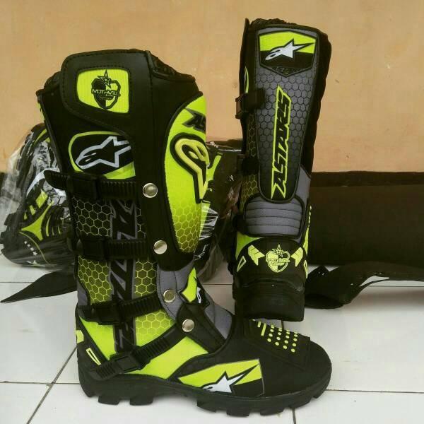 harga Sepatu cross fox alpinestars printing Tokopedia.com