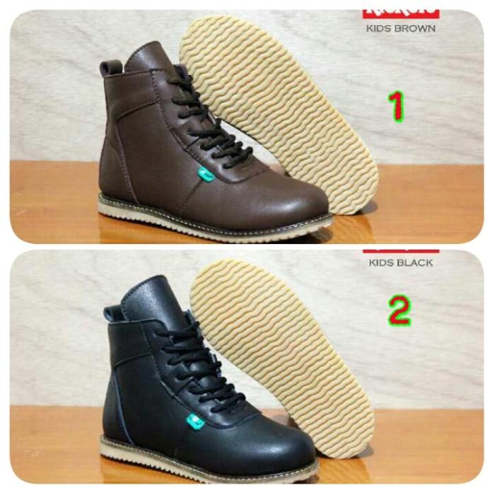 harga Sepatu anak boot casual kickers kids made in france asli import  Tokopedia.com b06f6eb75e