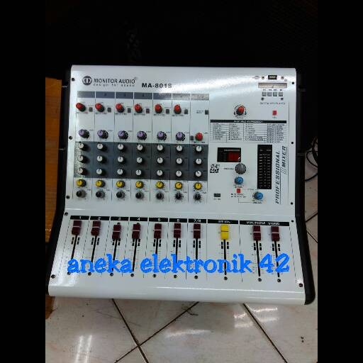 harga Mixer monitor audio ma 801s (8 chanel) Tokopedia.com