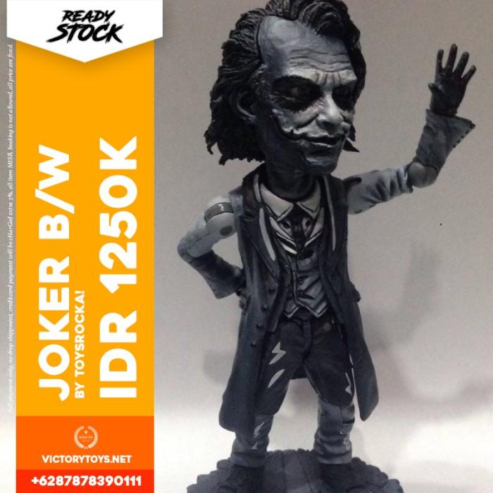 harga Joker b/w by toysrocka! Tokopedia.com
