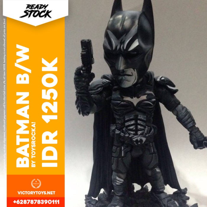 harga Batman b/w by toysrocka! Tokopedia.com
