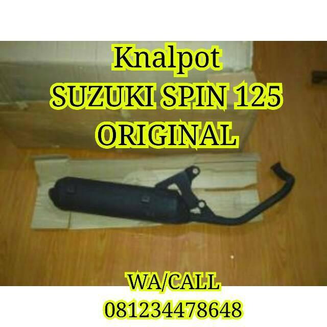 harga Knalpot suzuki spin 125 all type original sgp Tokopedia.com