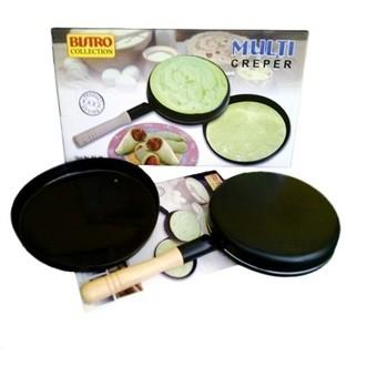 harga Bistro multi creper pan / wajan terbalik membuat crepes kulit lumpia Tokopedia.com
