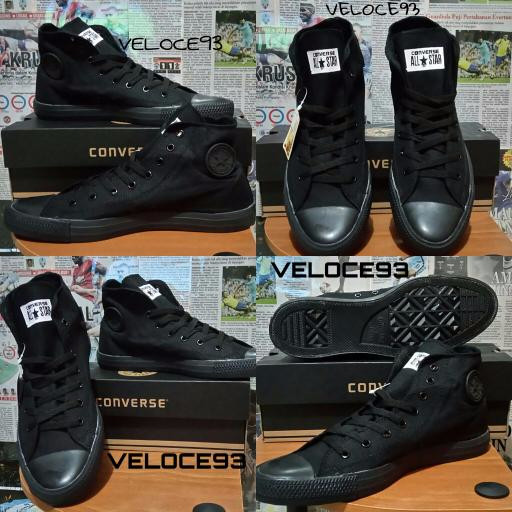 PROMO SEPATU CONVERSE ALL STAR CT2 HIGH FULL BLACK + BOX CONVERSE TER 30d1eff41