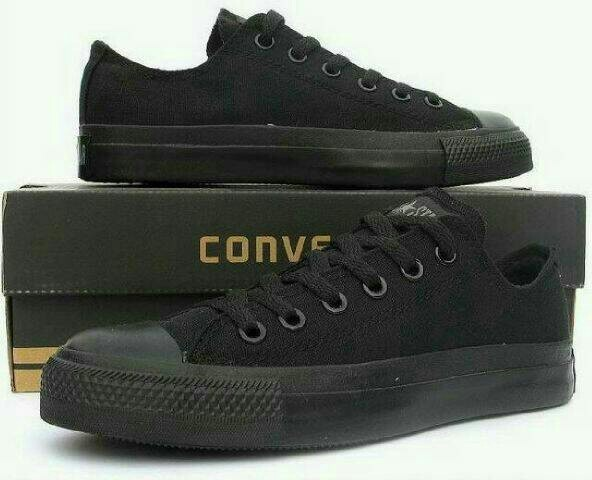 converse all star full black