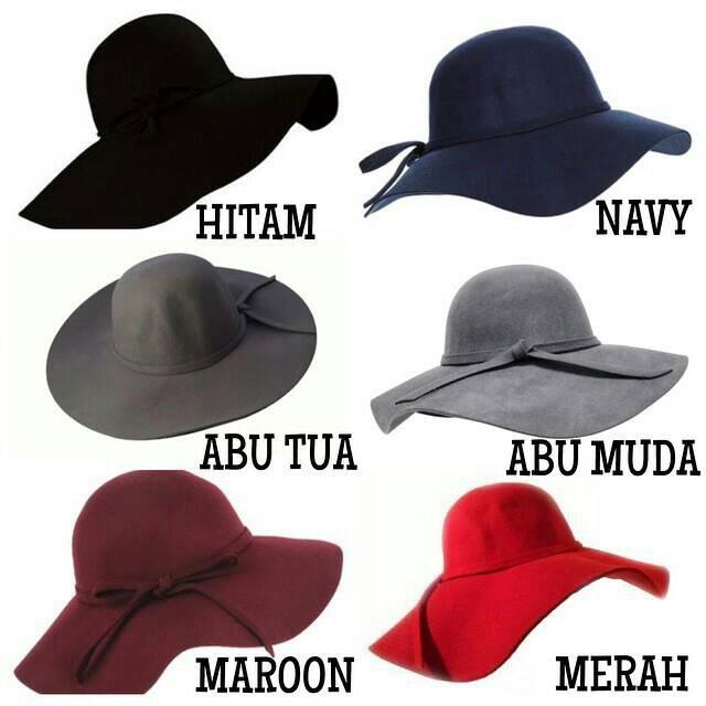 Topi Floppy Hat - topi pantai -BELUDRU HIGH QUALITY