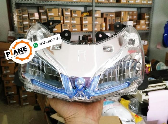 harga Reflektor / lampu depan vario fi 110 led remote 2014 Tokopedia.com