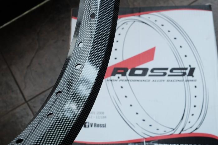 Velg Motor V-Rossi ring 17 Carbon [SET] [BARU]