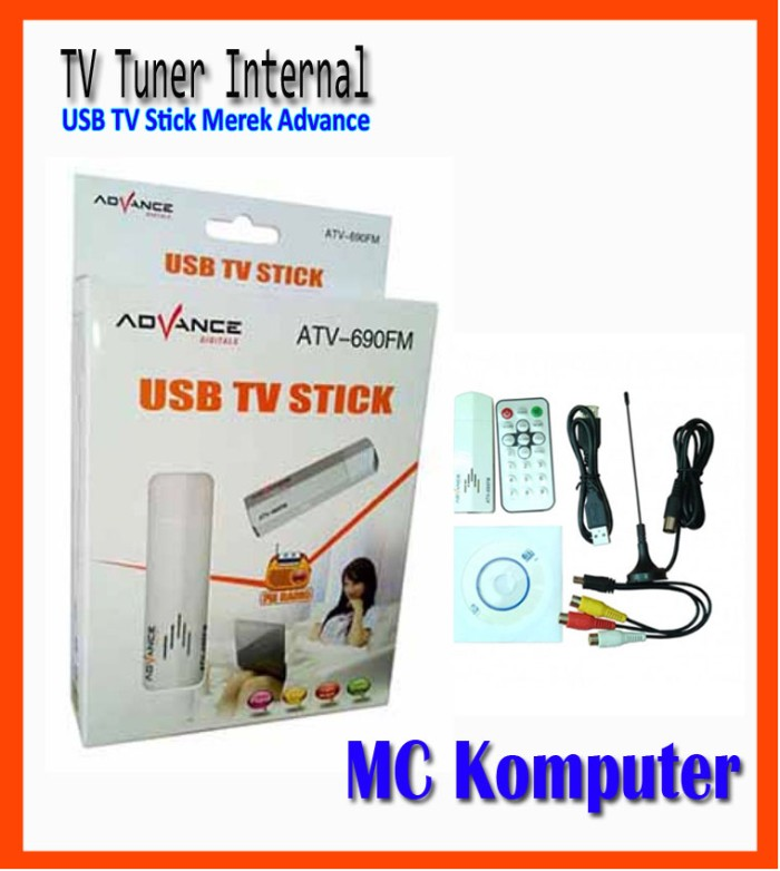 driver tv tuner advance atv 690 usb tv stick