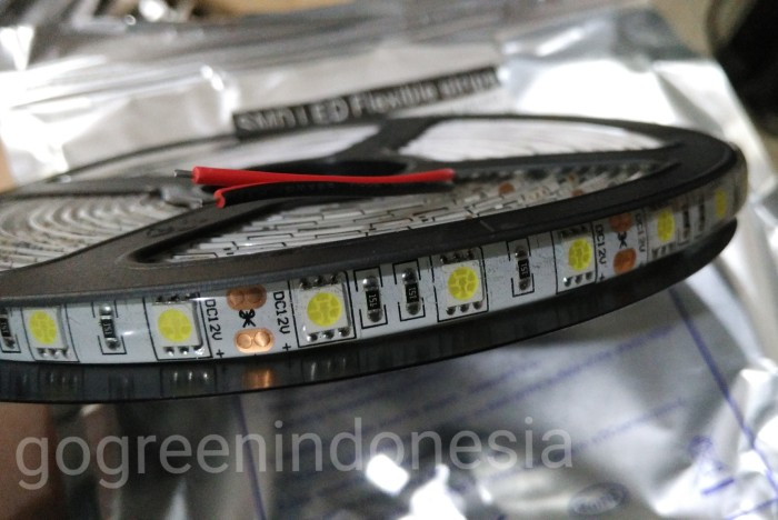 harga Strip led 5050 ip44 dc 12v (outdoor) 5 meter Tokopedia.com