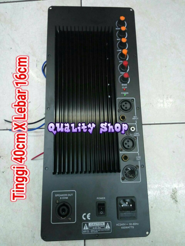harga Power kit/mesin speaker active buat 12/15 inch 450-1000 watt Tokopedia.com