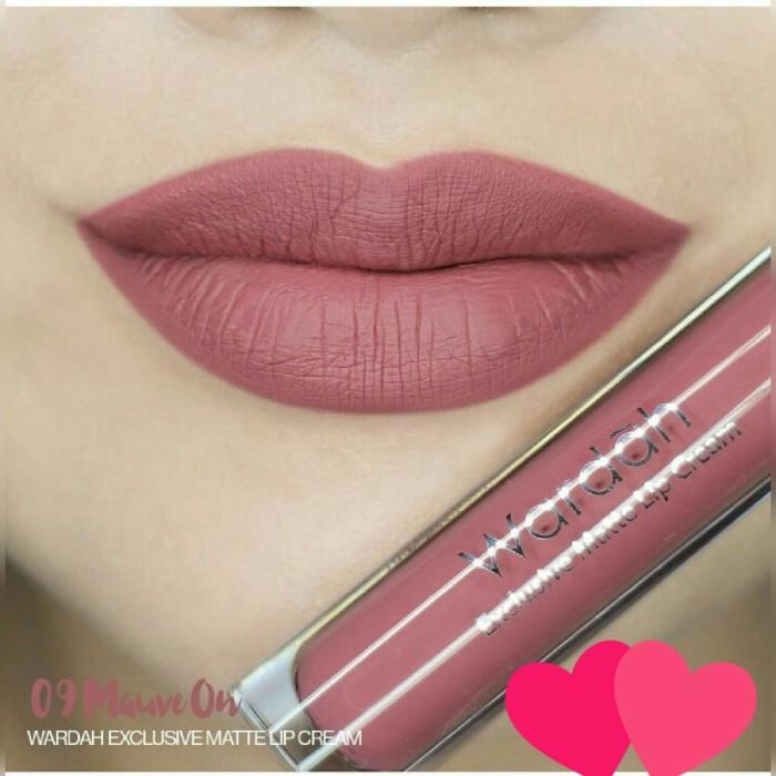Jual Lipstik wardah eksklusif matte lip cream - WAP SHOP