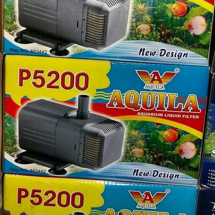 Jual pompa aquarium kolam Aquila P 5200 / Aquila 5200 ...