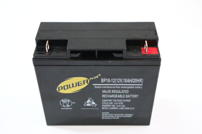 harga Baterai ups 12v18ah powerplus (battery ups apc rbc11 vrla sla) Tokopedia.com