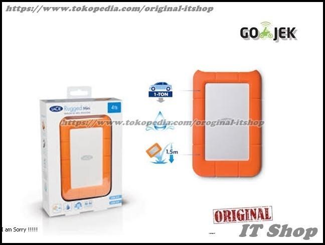 harga Harddisk / hdd / hd / lacie rugged mini 1tb usb 3.0 / hardisk external Tokopedia.com