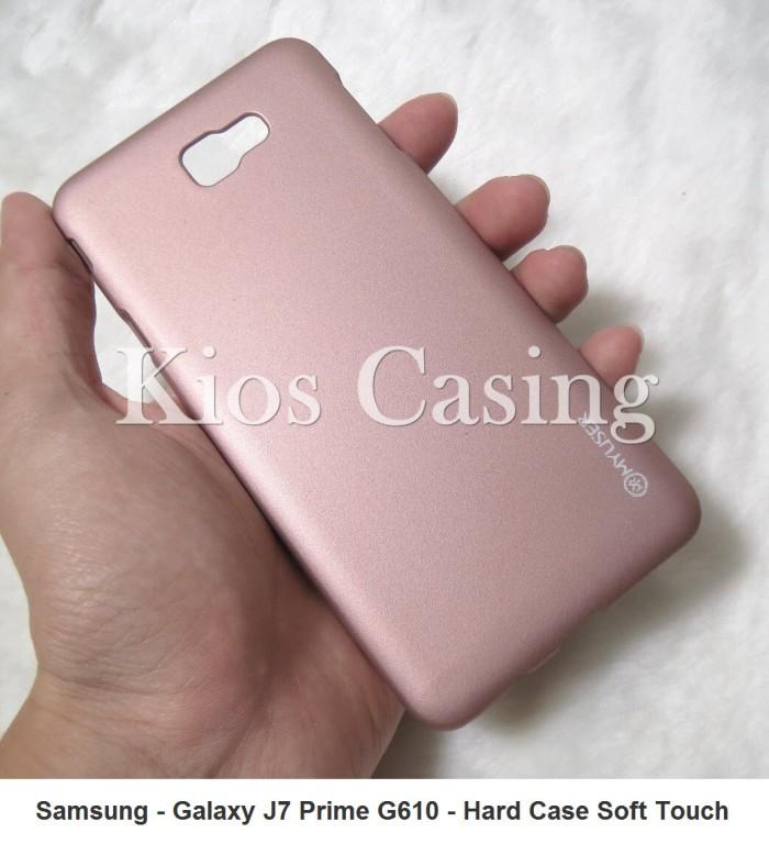 harga Samsung galaxy j7 prime g610 - hard case soft touch cover (casing) Tokopedia.com
