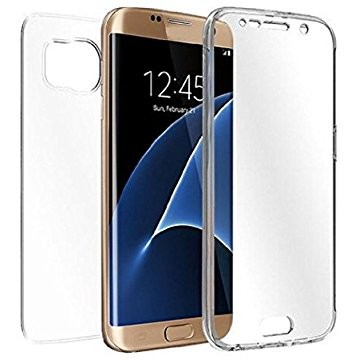 JualSoftcaseSiliconCaseUltraThinForSamsungS7Edge