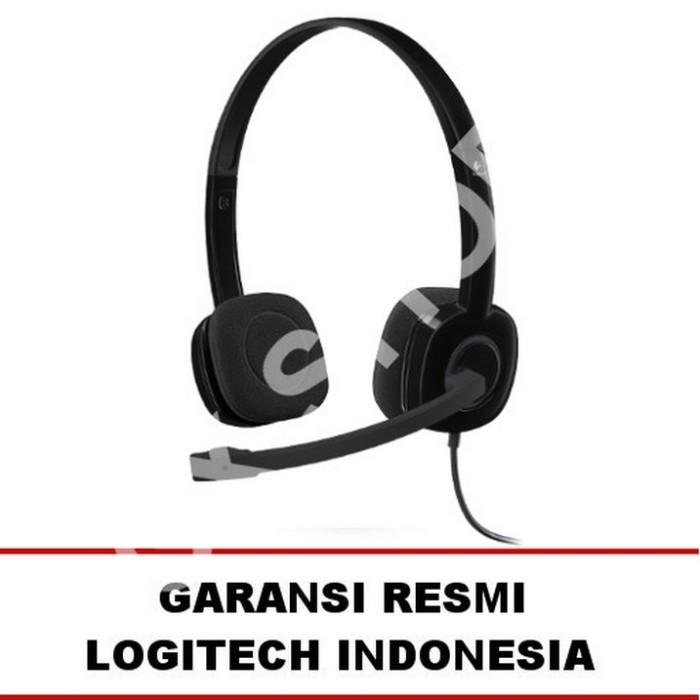 574cfa0bc68 Jual Logitech H151 Stereo Headset - Garansi Resmi - Gibran Store ...