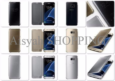 best service 3528e 02bc9 Jual MURAH Clear view cover original Samsung Galaxy S7 edge BEST SELLER -  Aisyah SHOPPING | Tokopedia
